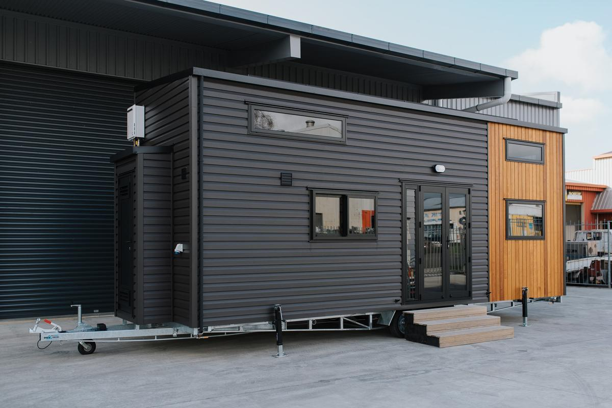 The Kingfisher Tiny House cost NZD 143,500