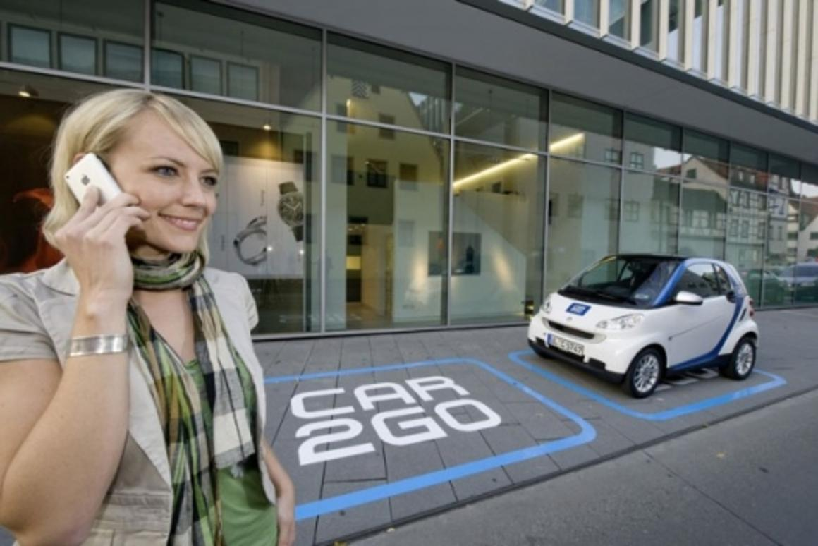 car2go transport sharing scheme