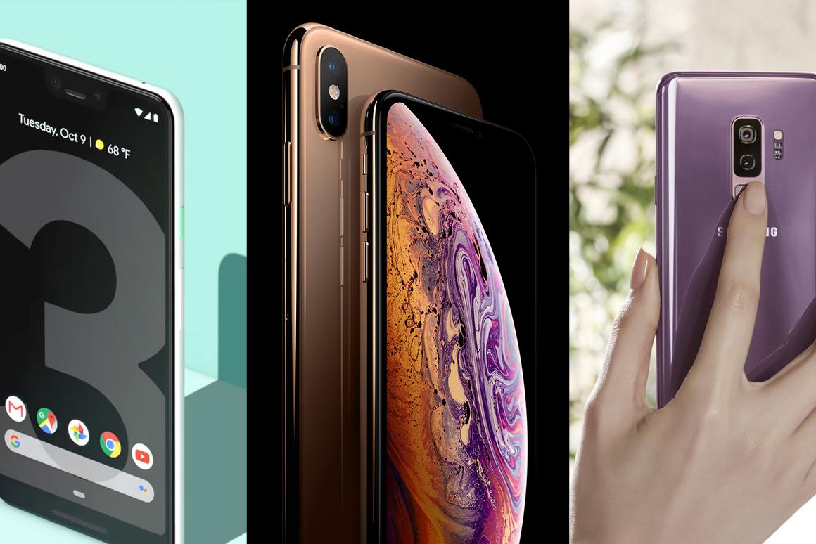 Google, Apple and Samsung all feature in our best phones of 2018 list