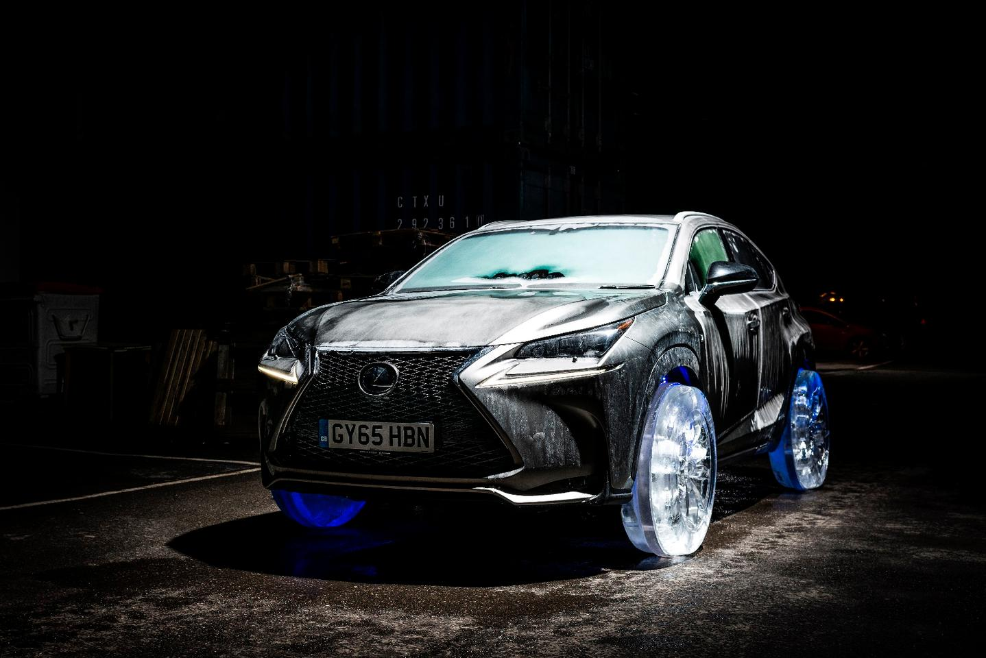The Lexus NX gets cold