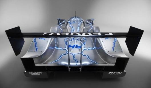 The Peugeot 908 HY
