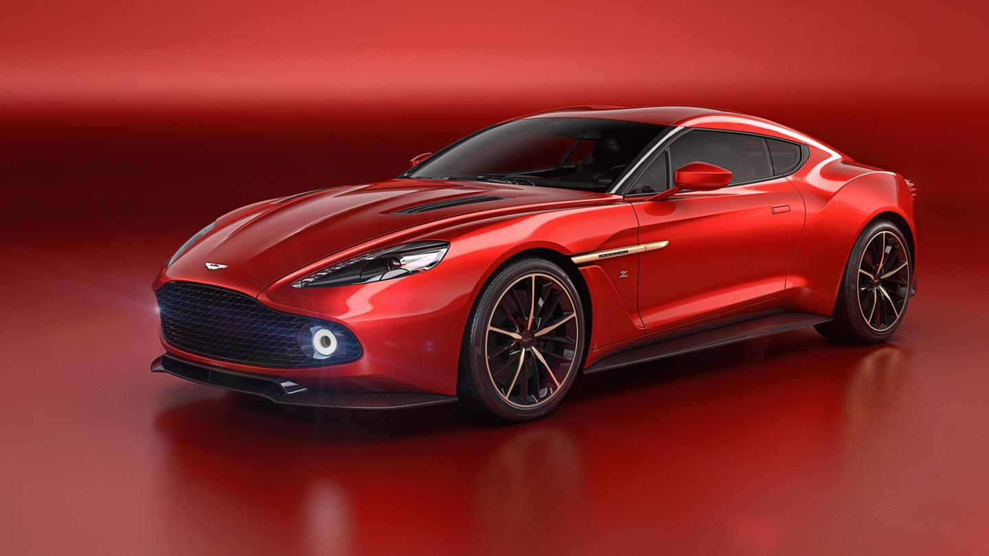 The Vanquish Zagato Concept is the fifth car that Aston Martin and Zagato have produced together
