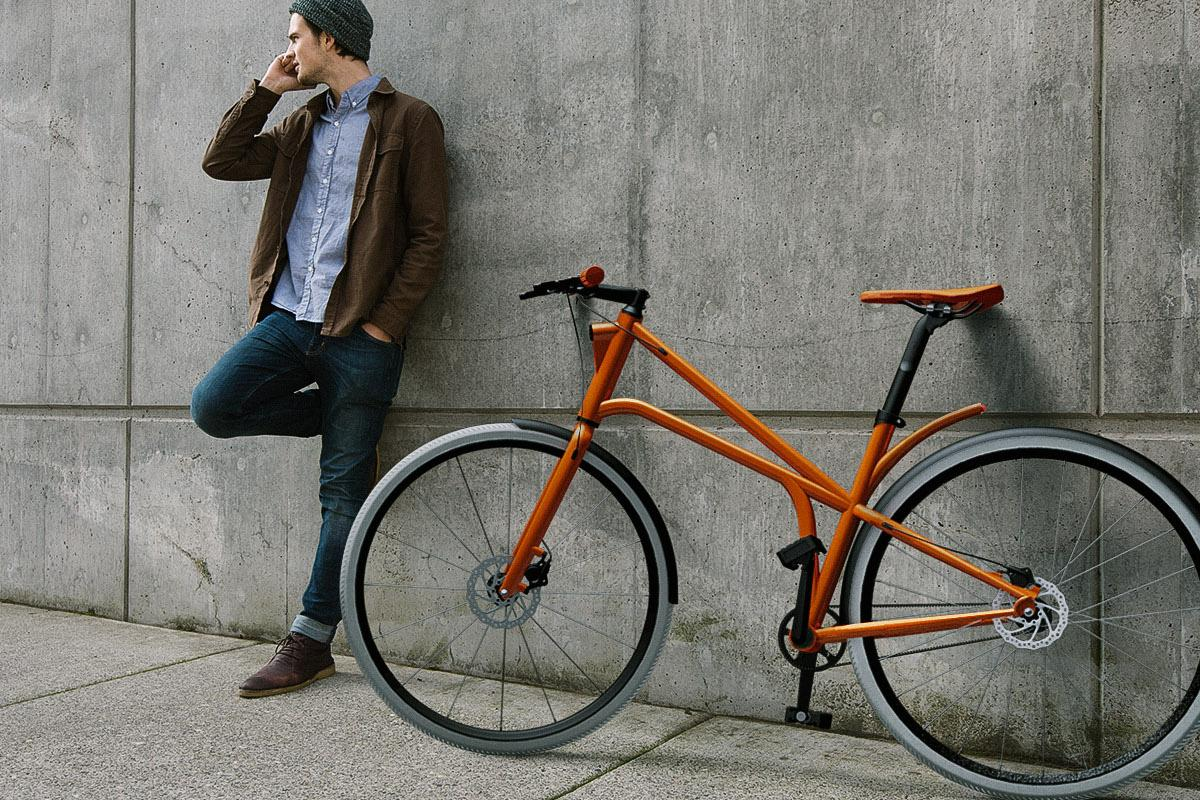 The creators of Cylo see it as the ultimate urban bicycle, as it brings together a range of different innovations