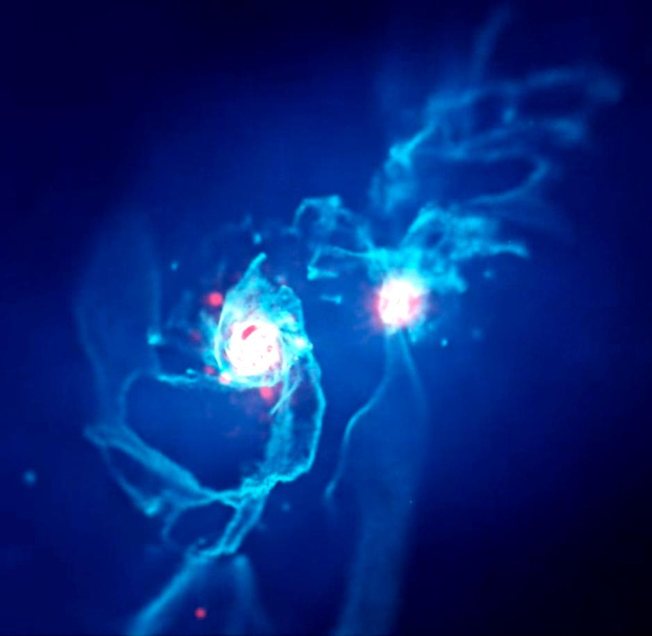 With the sizes of the two galaxies now thought to be roughly the same, new simulations are needed to find out what will happen when they eventually collide in around 5 billion years