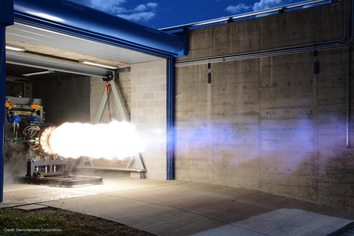 Sierra Nevada says its Vortex rocket can save tens of millions of dollars per launch