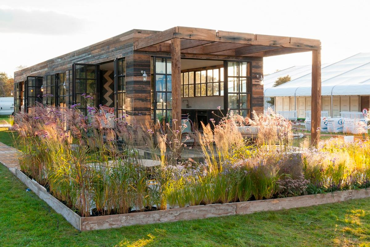 London's Bert and May Group recently launched a series of clever prefabricated box homes, which take as little as one day to setup
