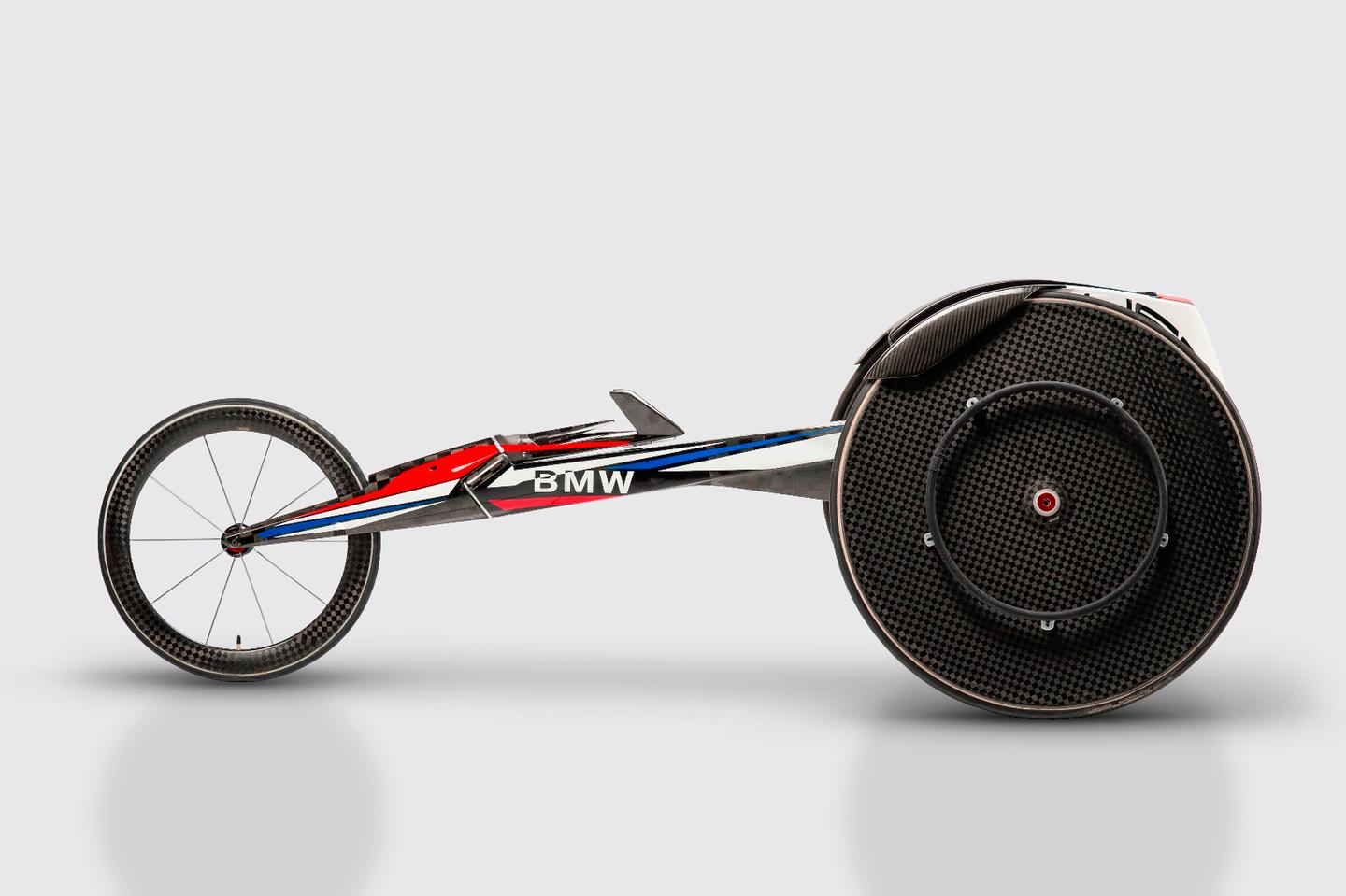 BMW is finishing up the racing wheelchair and will ship it to Team USA this summer