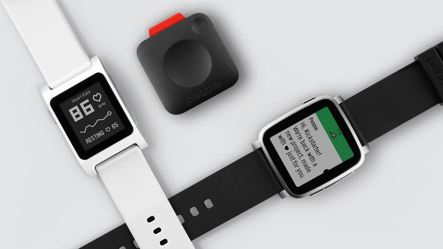 Pebble has launched three new wearables with its third Kickstarter campaign