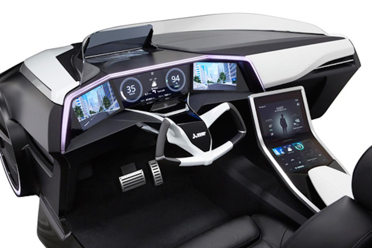 Inside the high-tech cockpit of the Emirai 3 xDas