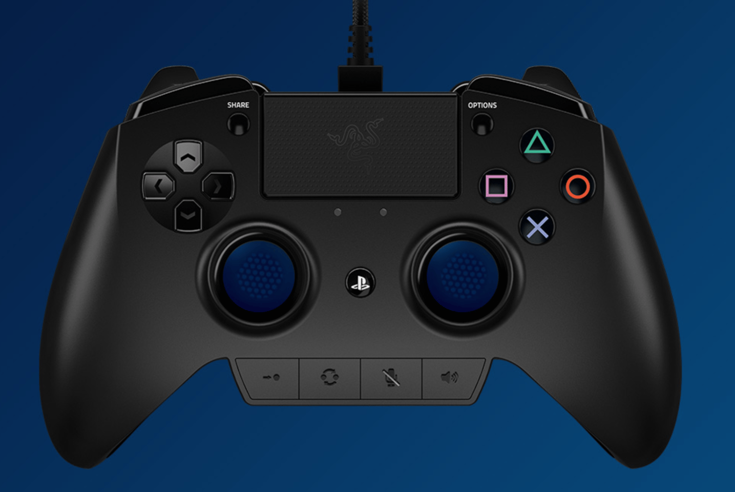 Razer's Raiju controller for PlayStation 4