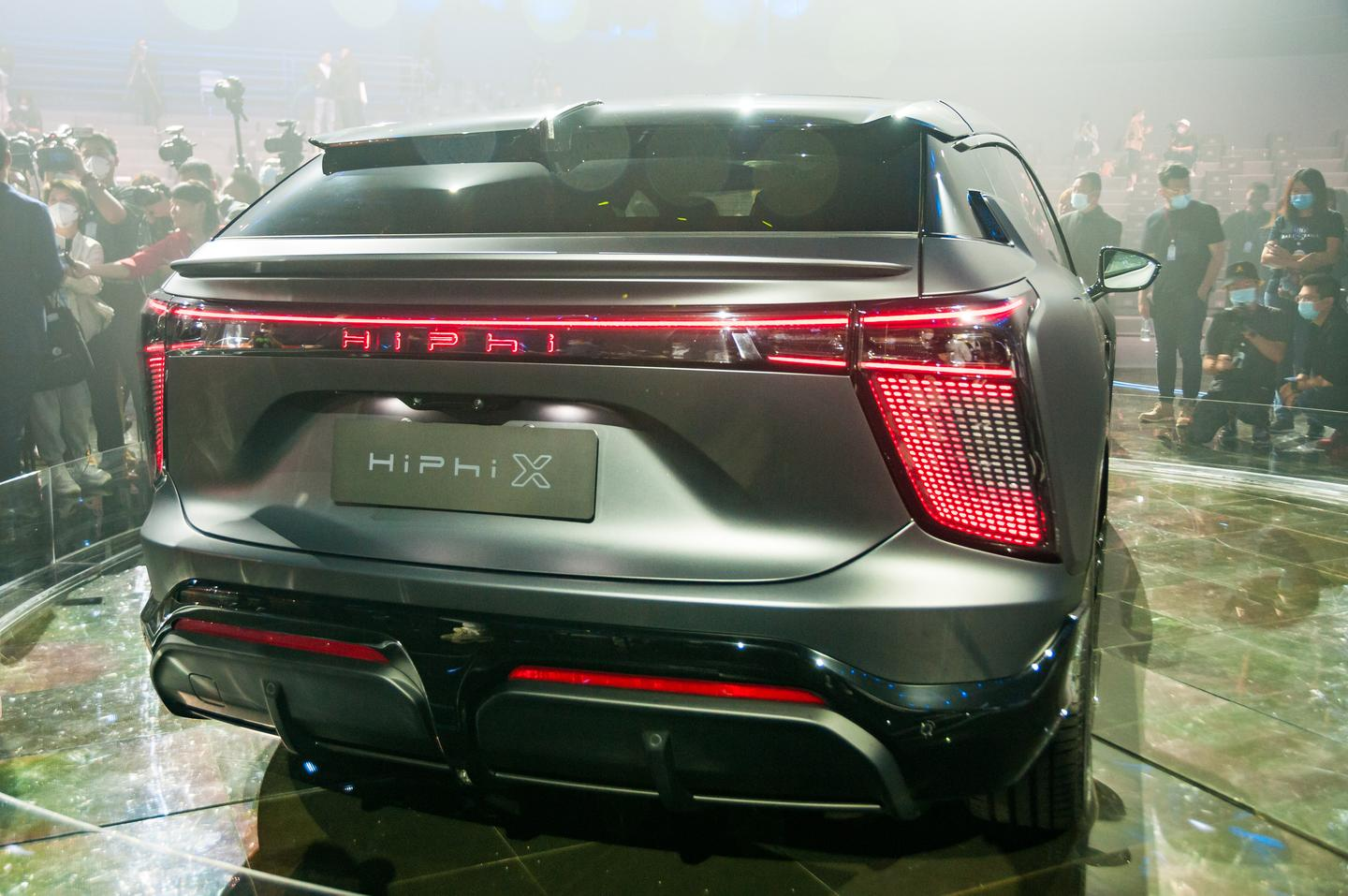 The four-seat Founder Edition HiPhi X SUV