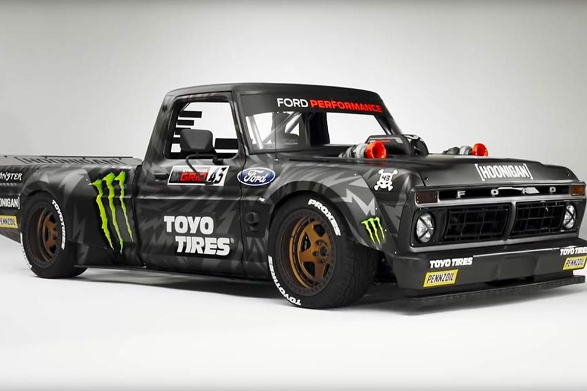 "Ken Block's ""Hoonitruck"" required the creation of what Ford claims is the largest metal 3D-printed part ever to make its way into a working vehicle"