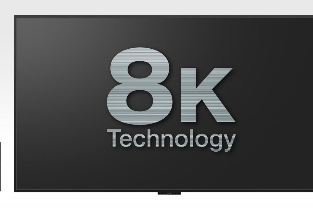 Sharp is the first manufacturer in the world to start selling a 8K panel