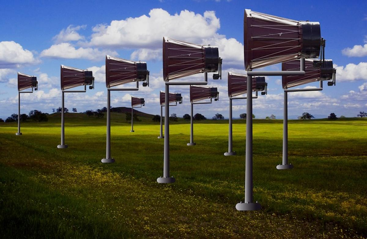 Military veteran Raymond Green created the Catching Wind Power prototype at an estimated cost of US$550
