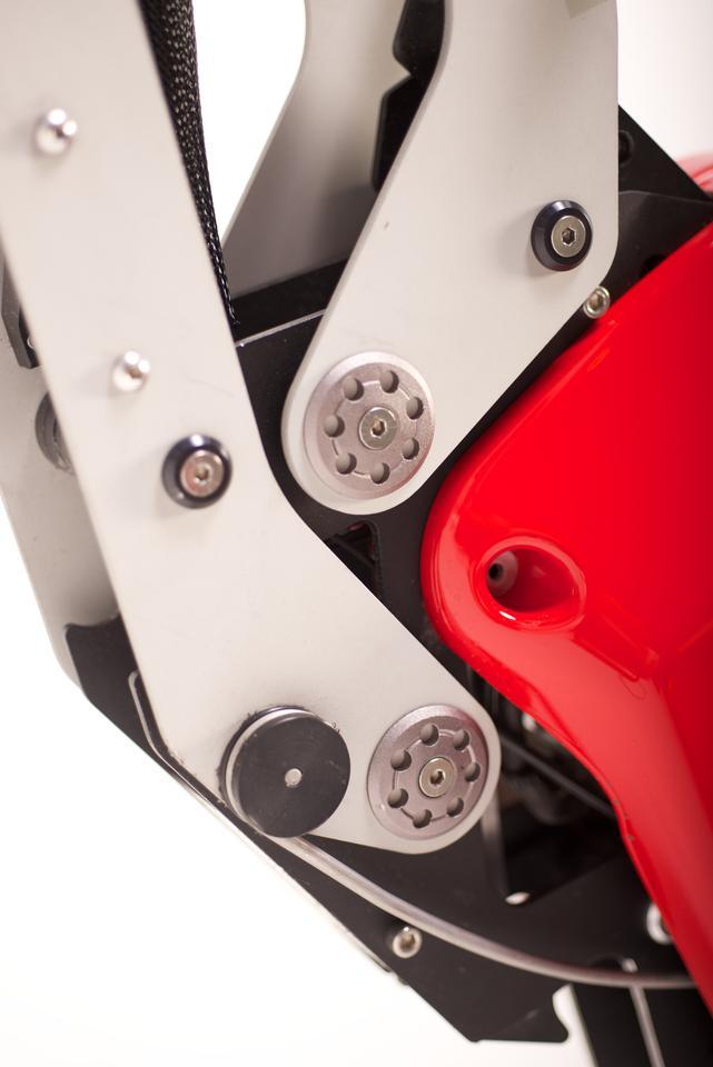 The Voltitude V1's folding mechanism (Photo: Arnaud Lambert)
