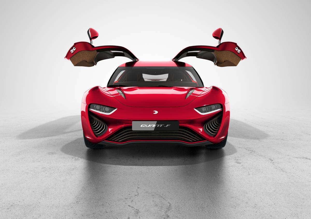The new Quant F will make its debut at the 2015 Geneva Motor Show in March (Photo: C.C. Weiss/Gizmag)