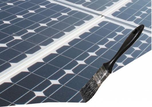 Solar energy paint