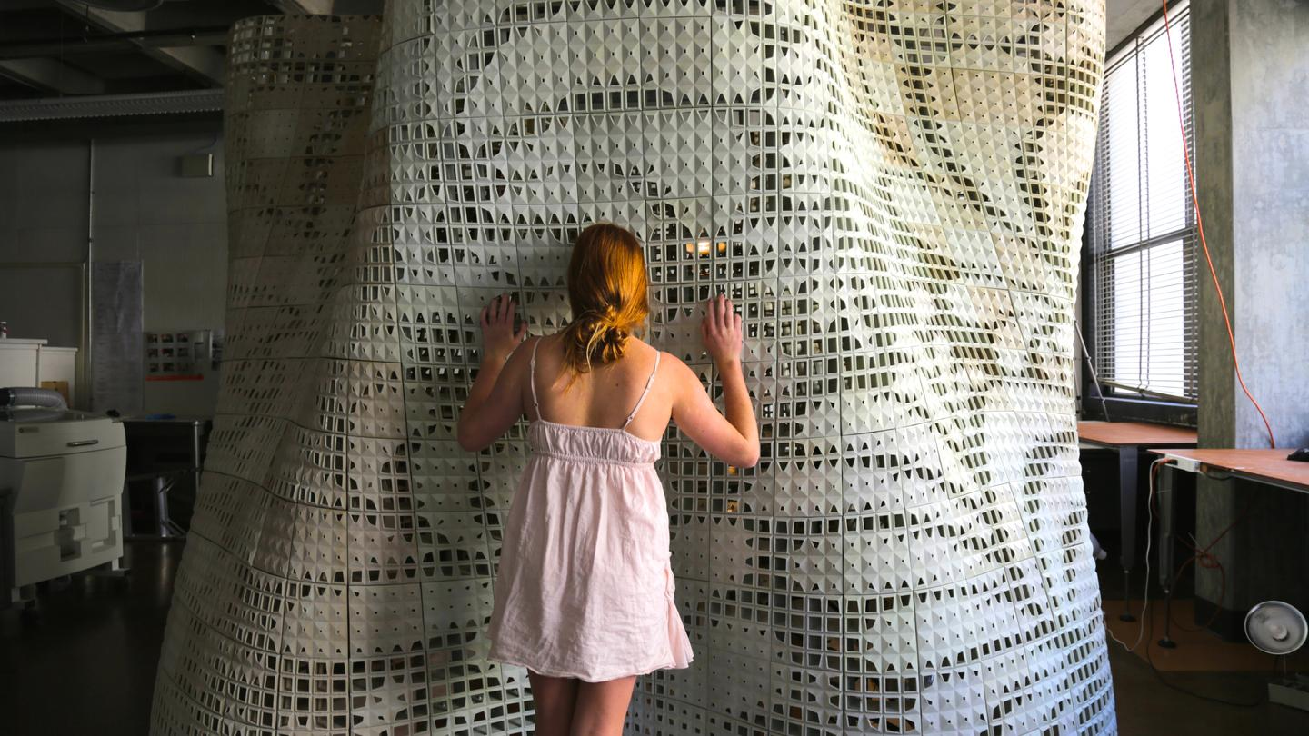 We've reported on quite a few 3D-printed architectural projects, but this one is different (Photo: UC Berkeley)