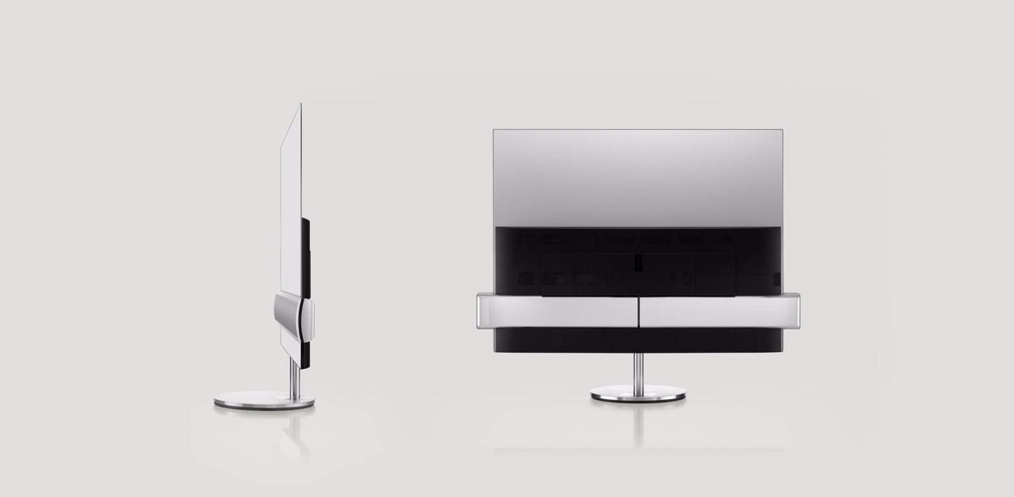 The BeoVision Eclipse TV is the first product that LG and Bang & Olufsen have created since forming a partnership in March 2016