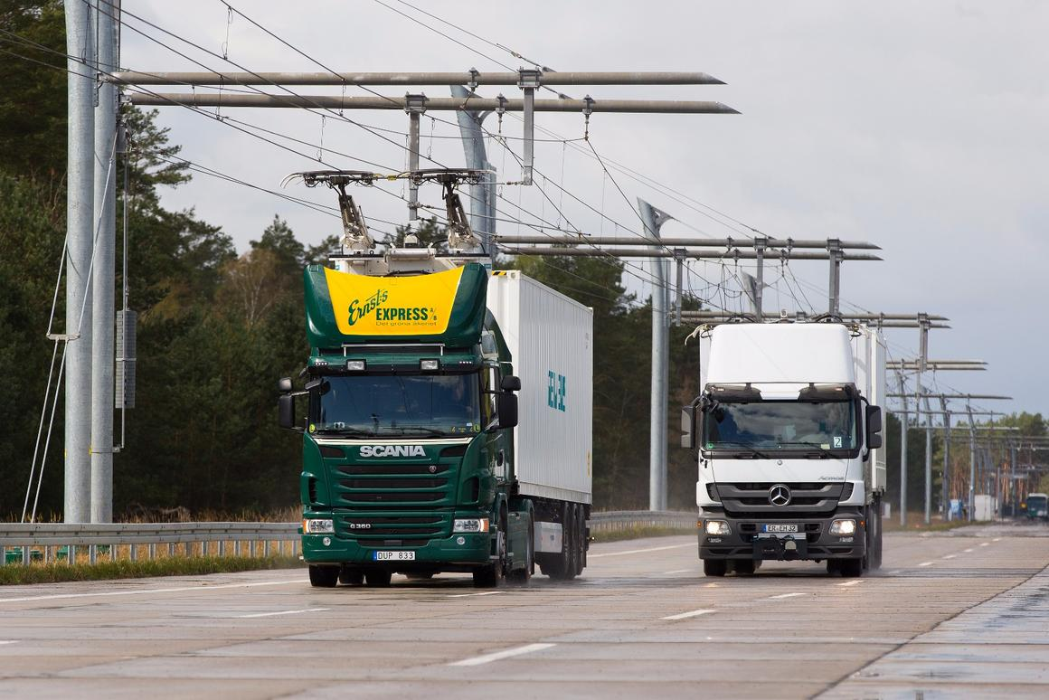 The Siemens eHighway field trial will be the first on apublic highway in Germany