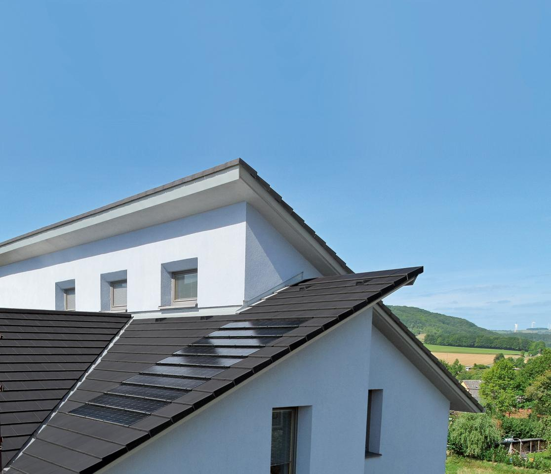 Stafier's PV roof tile system recesses into the roof