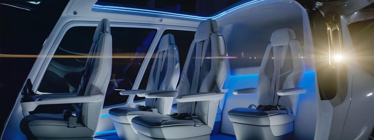 The Skai's 5-seat interior
