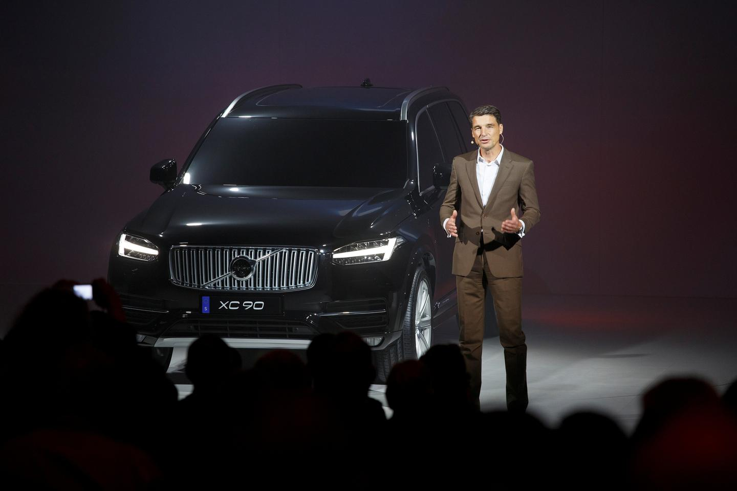 Volvo President and CEO Håkan Samuelsson is calling the XC90's launch one of the most important days in the company's history