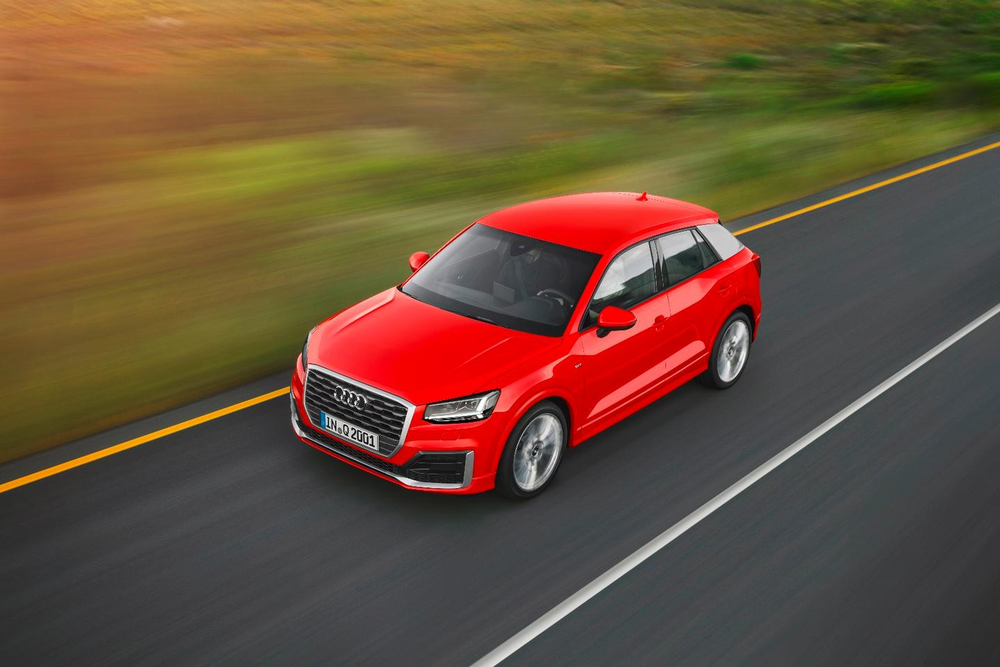 The Q2 is Audi's latest crack at the compact SUV segment