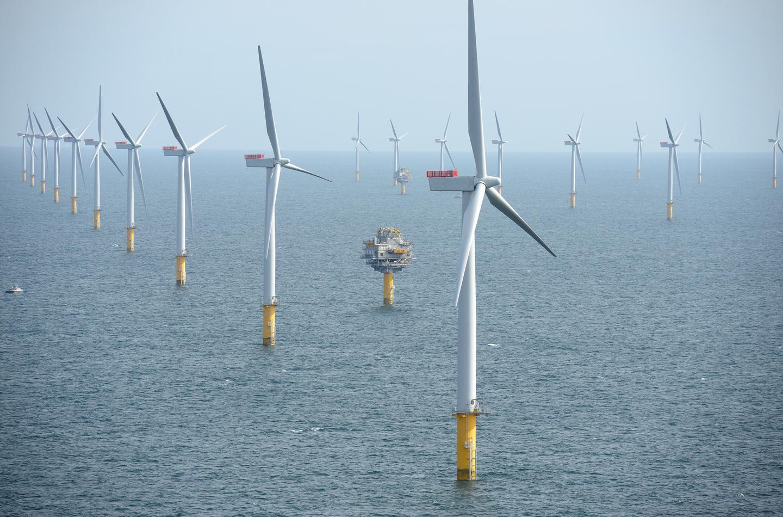 Sheringham Shoal Offshore Wind Farm, UK (Photo: Harald Pettersen/Statoil)