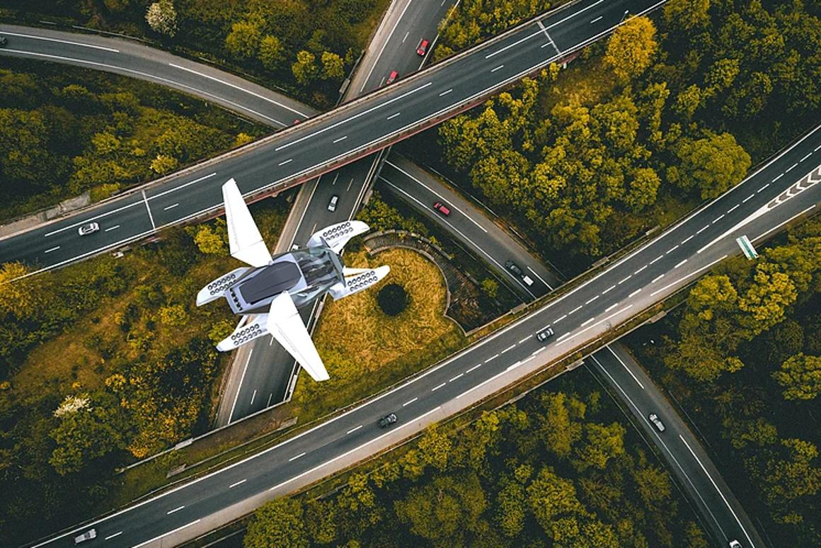 Hoversurf's Project Forumla:soaring above the freeways, that's the dream