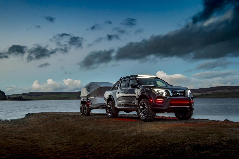 Nissan finds light in the dark with the Navara Dark Sky Concept