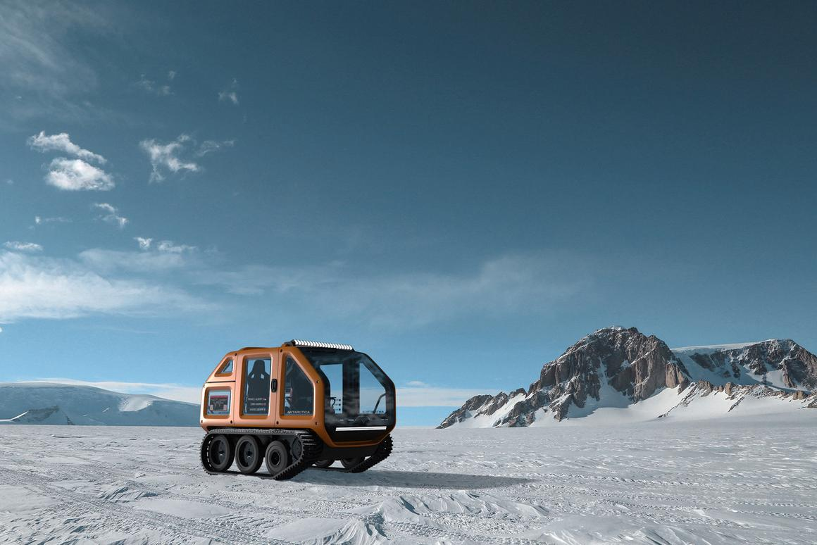 The Venturi Antarctica will be used for short scientific missions