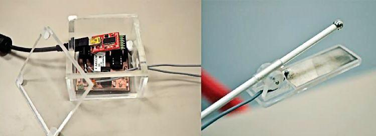 The Digital Lollypop for producing electrical-only stimulation of the tongue (Photo: National University of Singapore)
