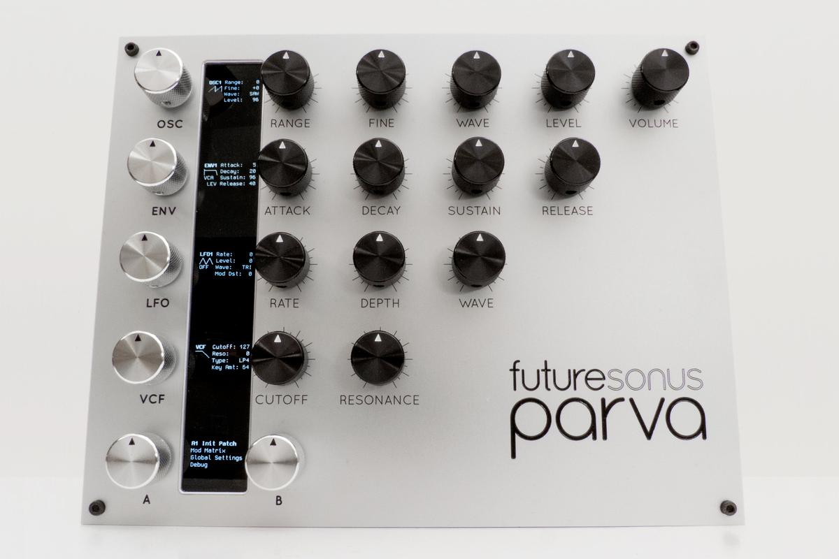 The Parva polyphonic analog synthesizer from futuresonus