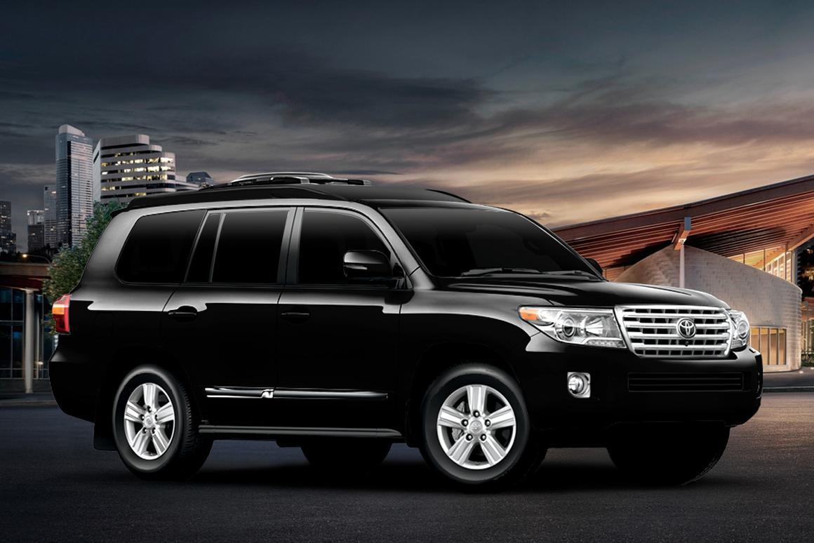 Lexani's luxury armored Toyota Land Cruiser keeps you safe