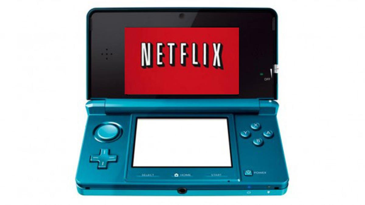 Nintendo 3DS will stream movies from Netflix