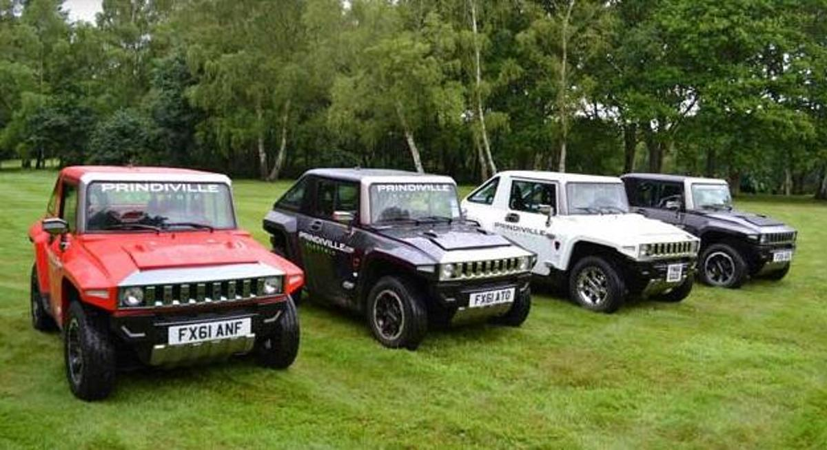 The Hummer goes electric