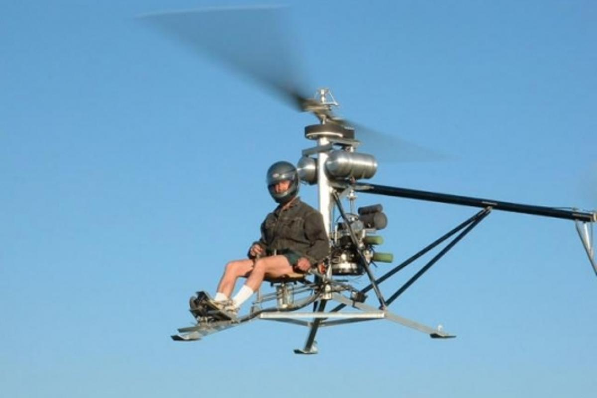 One helicopters mini man The World's