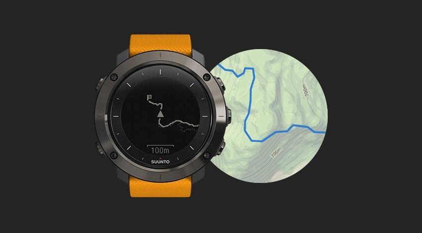 When launching the Traverse, Suunto mentioned forthcoming topo maps, allowing you to compare routes on the watch against topo view on a mobile device