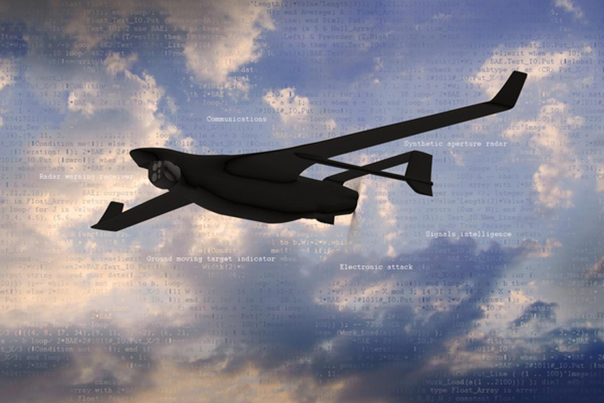 DARPA and BAE Systems are collaborating on a program to let unmanned aerial system (UAS) payloads share hardware components, allowing for mid-flight multitasking
