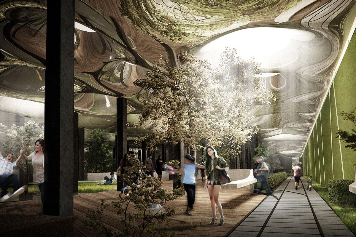 The Delancey Project hopes to create New York's very first subterranean green space (Image: Delancey Underground)