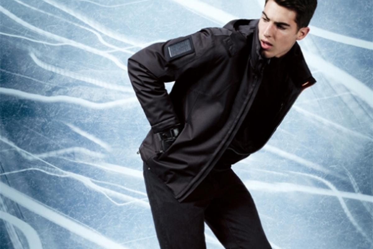 Zegna Sport's new eco-friendly jacket powers your handheld devices
