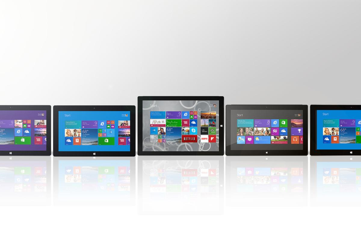 Gizmag compares the features and specs of all five Microsoft Surface 2-in-1s
