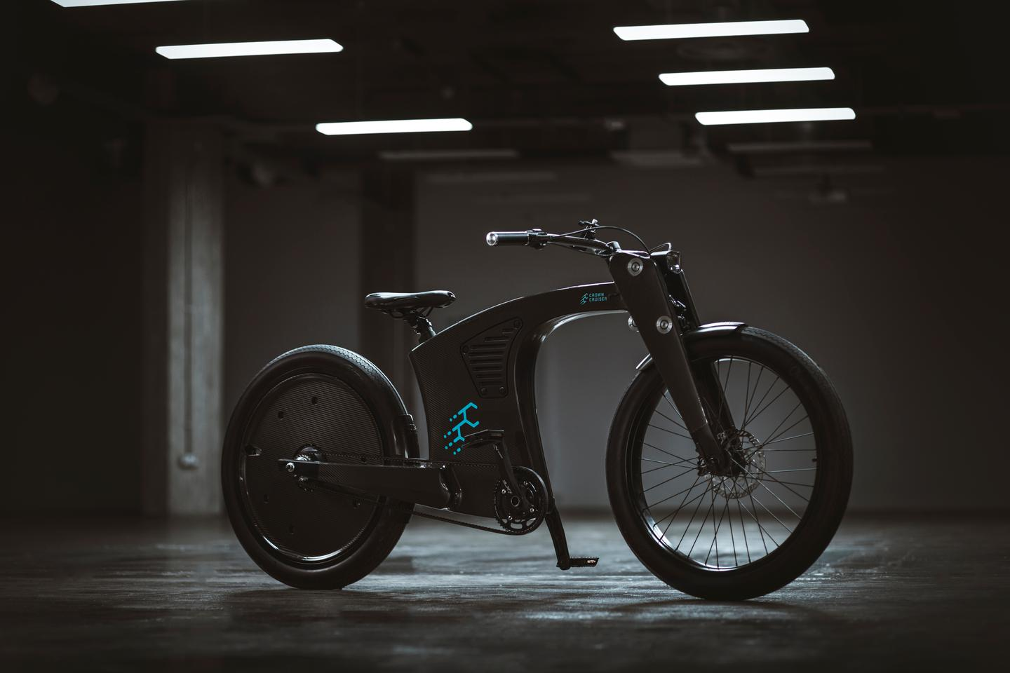 The CrownCruiser ebike can be had with a 250-W or 750-W motor