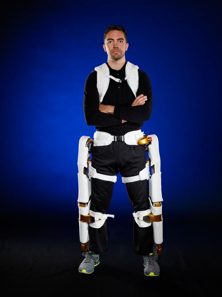 The X1 Robotic Exoskeleton (Image: Robert Markowitz)