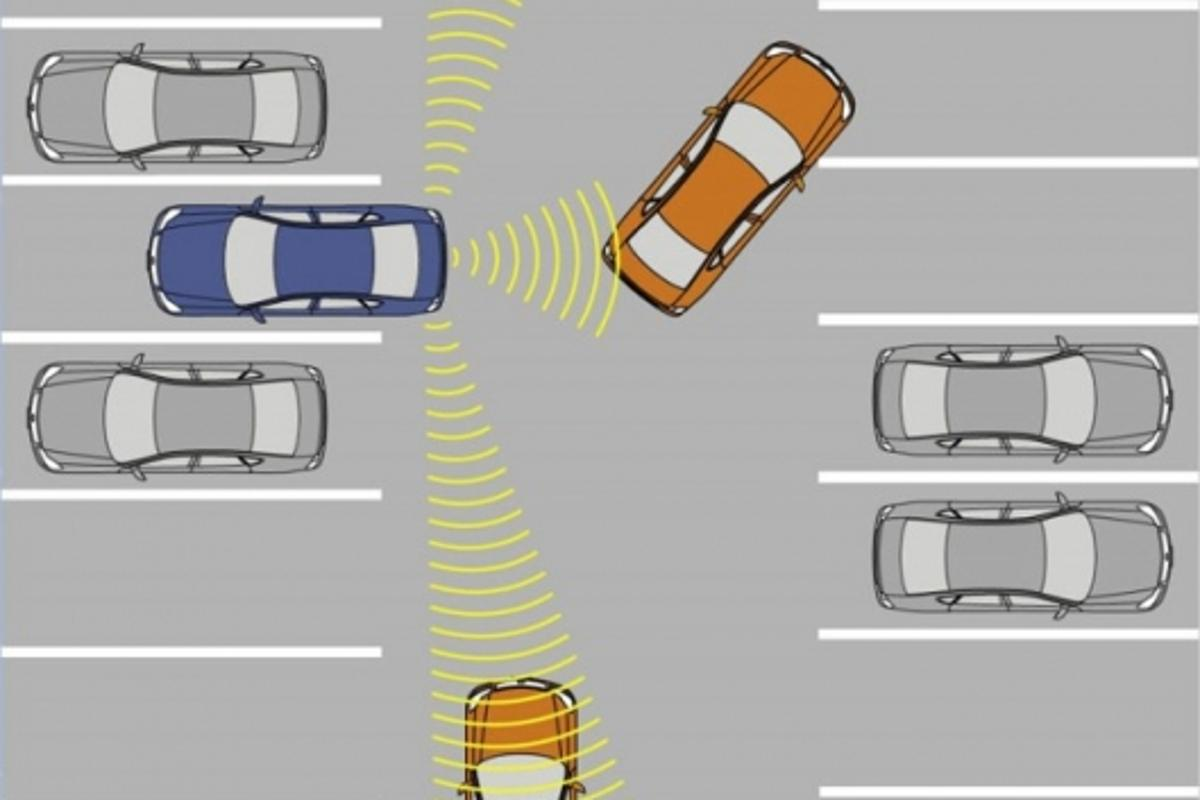 Back-up Collision Prevention Operation