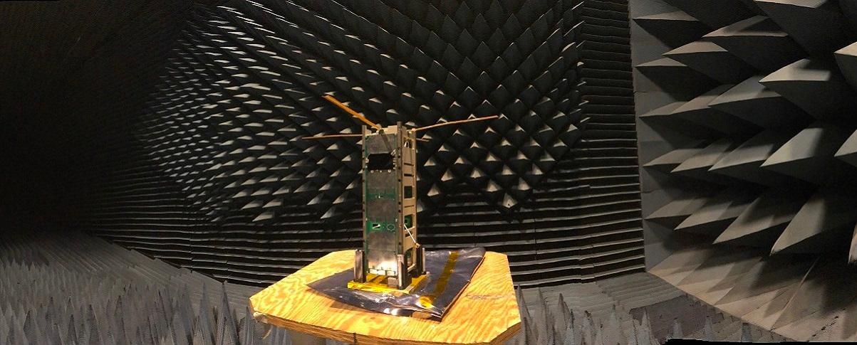 MiTEE-1 undergoing acoustic testing