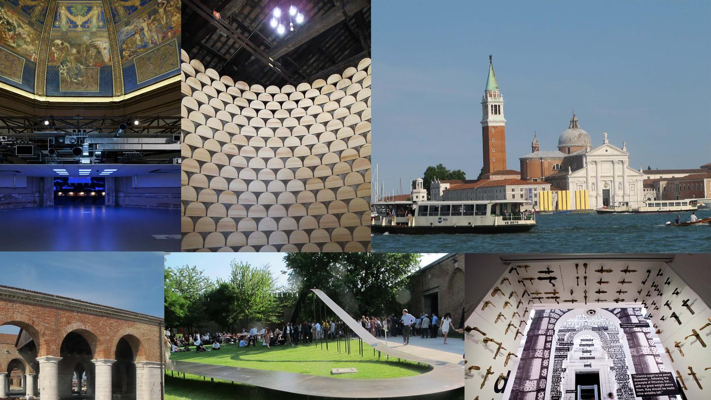 The 2014 Venice Architecture Biennale that includes entries from 65 countries (Image: Phyllis Richardson)