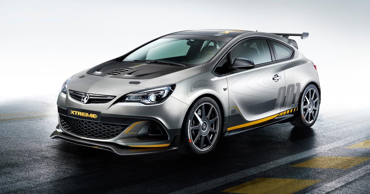 Vauxhall to show carbon-fiber 297 hp Astra VXR Extreme