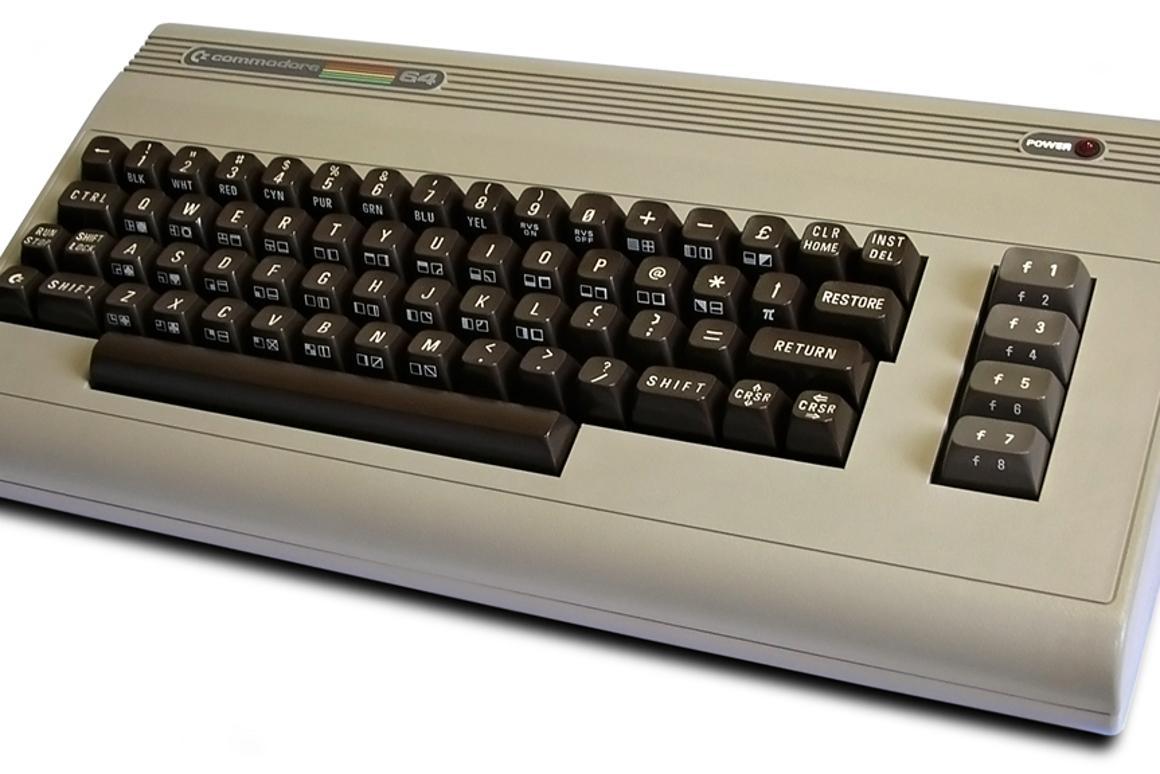 The original Commodore 64 in stylish beige